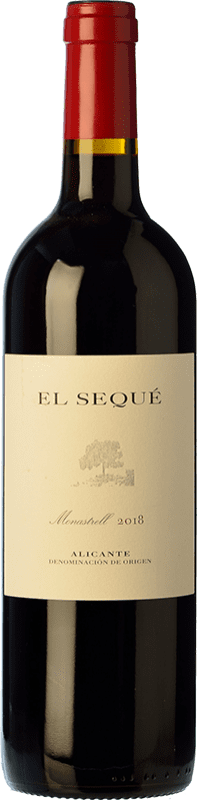 25,95 € | Red wine El Sequé Crianza D.O. Alicante Valencian Community Spain Monastrell Bottle 75 cl