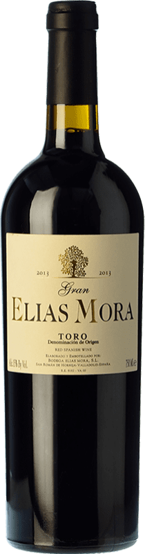 41,95 € Free Shipping | Red wine Elías Mora Gran Elías Mora Crianza D.O. Toro Castilla y León Spain Tinta de Toro Bottle 75 cl