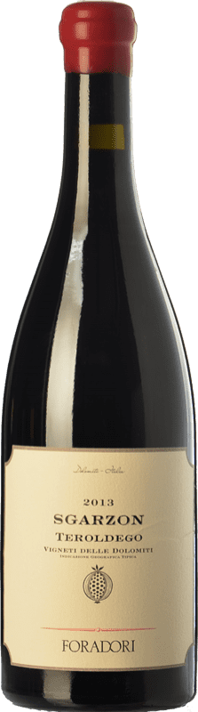 36,95 € 免费送货 | 红酒 Foradori Sgarzon I.G.T. Vigneti delle Dolomiti 特伦蒂诺 意大利 Teroldego 瓶子 75 cl