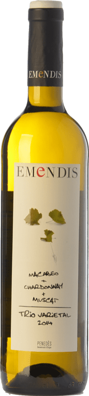 9,95 € | White wine Emendis Trío D.O. Penedès Catalonia Spain Muscat of Alexandria, Macabeo, Chardonnay Bottle 75 cl