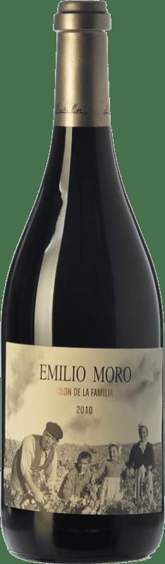 329,95 € Envoi gratuit | Vin rouge Emilio Moro Clon de la Familia Reserva 2010 D.O. Ribera del Duero Castille et Leon Espagne Tempranillo Bouteille 75 cl