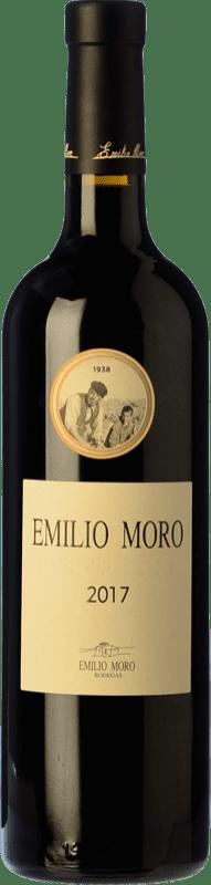 19,95 € 免费送货 | 红酒 Emilio Moro Crianza D.O. Ribera del Duero 卡斯蒂利亚莱昂 西班牙 Tempranillo 瓶子 75 cl