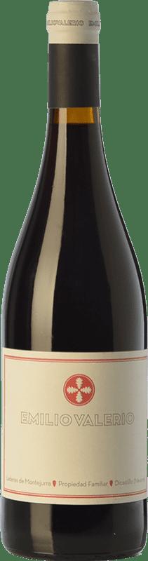 9,95 € Envío gratis | Vino tinto Emilio Valerio Joven D.O. Navarra Navarra España Tempranillo, Merlot, Garnacha, Cabernet Sauvignon, Graciano Botella 75 cl