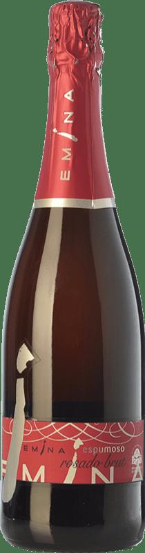 7,95 € 免费送货 | 玫瑰气泡酒 Emina 香槟 I.G.P. Vino de la Tierra de Castilla y León 卡斯蒂利亚莱昂 西班牙 Tempranillo 瓶子 75 cl
