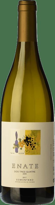 9,95 € Envoi gratuit | Vin blanc Enate 234 D.O. Somontano Aragon Espagne Chardonnay Bouteille 75 cl