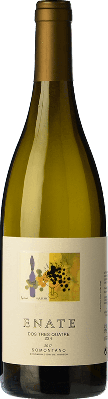8,95 € | White wine Enate 234 D.O. Somontano Aragon Spain Chardonnay Bottle 75 cl