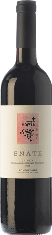 8,95 € Free Shipping | Red wine Enate Crianza D.O. Somontano Aragon Spain Tempranillo, Cabernet Sauvignon Bottle 75 cl