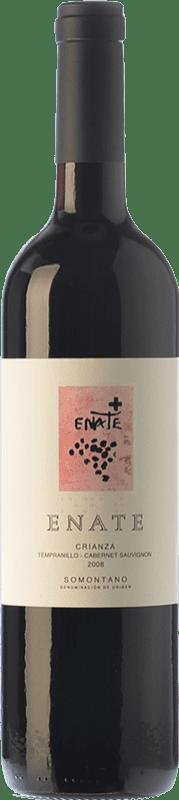 8,95 € Envío gratis | Vino tinto Enate Crianza D.O. Somontano Aragón España Tempranillo, Cabernet Sauvignon Botella 75 cl