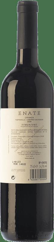 8,95 € Free Shipping   Red wine Enate Crianza D.O. Somontano Aragon Spain Tempranillo, Cabernet Sauvignon Bottle 75 cl
