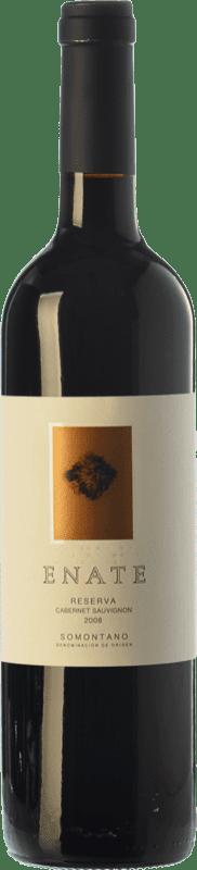 15,95 € Envío gratis | Vino tinto Enate Reserva D.O. Somontano Aragón España Cabernet Sauvignon Botella 75 cl