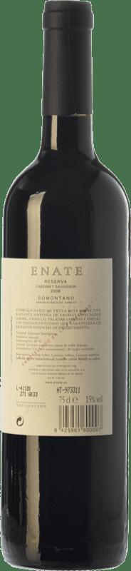 16,95 € Free Shipping | Red wine Enate Reserva D.O. Somontano Aragon Spain Cabernet Sauvignon Bottle 75 cl