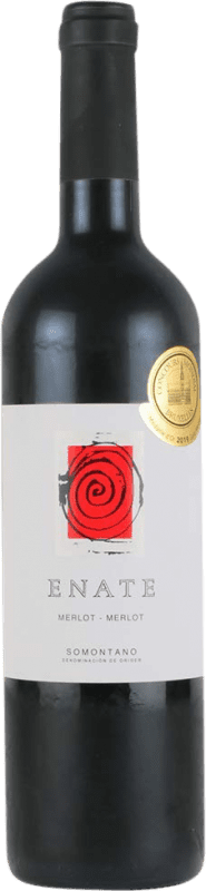 22,95 € | Red wine Enate Crianza D.O. Somontano Aragon Spain Merlot Bottle 75 cl