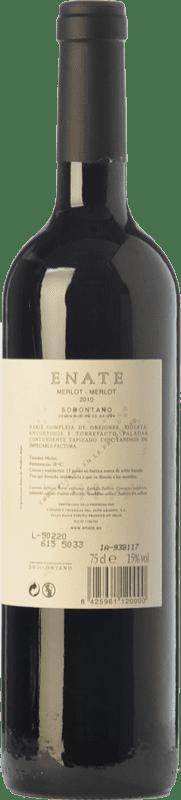 21,95 € Free Shipping   Red wine Enate Crianza D.O. Somontano Aragon Spain Merlot Bottle 75 cl