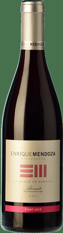9,95 € Envoi gratuit | Vin rouge Enrique Mendoza Crianza D.O. Alicante Communauté valencienne Espagne Pinot Noir Bouteille 75 cl