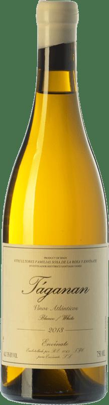 17,95 € Envío gratis | Vino blanco Envínate Táganan Crianza España Malvasía, Marmajuelo, Albillo Criollo, Gual Botella 75 cl