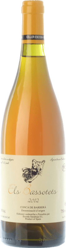 19,95 € Free Shipping | White wine Escoda Sanahuja Els Bassotets D.O. Conca de Barberà Catalonia Spain Chenin White Bottle 75 cl
