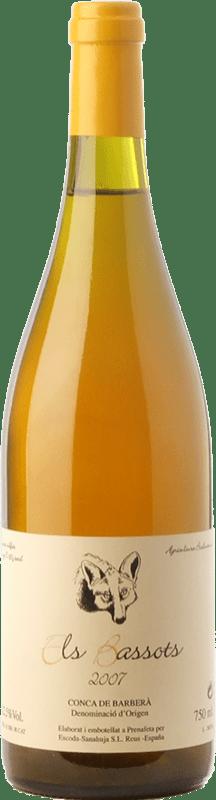 25,95 € Envío gratis | Vino blanco Escoda Sanahuja Els Bassots Crianza D.O. Conca de Barberà Cataluña España Chenin Blanco Botella 75 cl