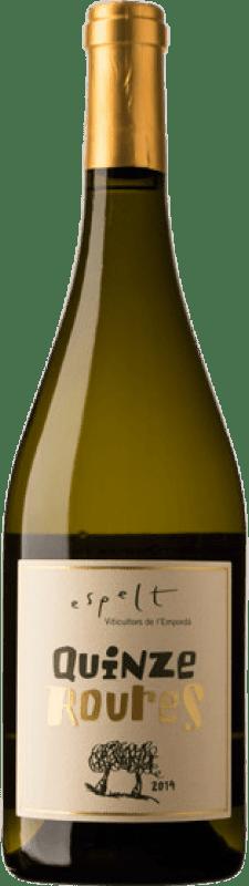 14,95 € | White wine Espelt Quinze Roures Crianza D.O. Empordà Catalonia Spain Grenache White, Grenache Grey Bottle 75 cl