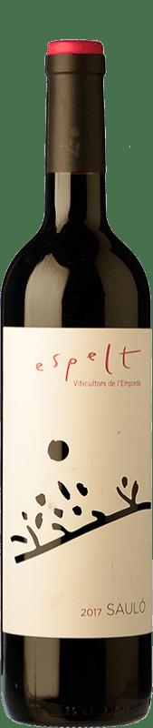 7,95 € | Red wine Espelt Sauló Joven D.O. Empordà Catalonia Spain Grenache, Carignan Bottle 75 cl