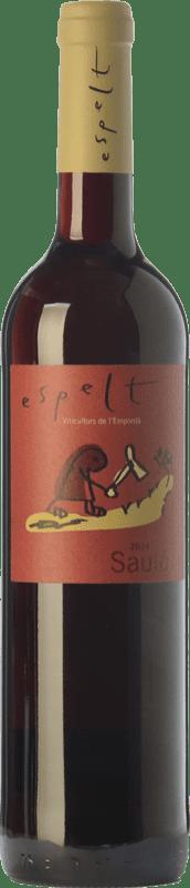12,95 € | Red wine Espelt Sauló Joven D.O. Empordà Catalonia Spain Grenache, Carignan Magnum Bottle 1,5 L