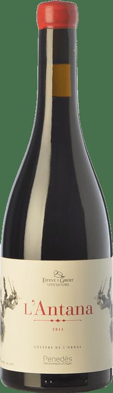 13,95 € Free Shipping | Red wine Esteve i Gibert L'Antana Crianza D.O. Penedès Catalonia Spain Merlot Bottle 75 cl
