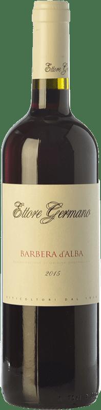 9,95 € Free Shipping | Red wine Ettore Germano D.O.C. Barbera d'Alba Piemonte Italy Barbera Bottle 75 cl