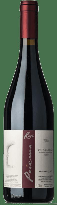 29,95 € Free Shipping | Red wine Rosi Poiema I.G.T. Vallagarina Trentino Italy Marzemino Bottle 75 cl