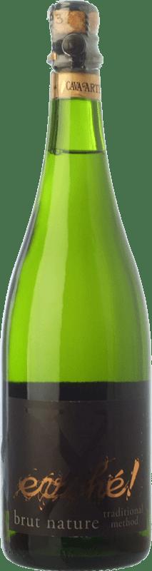 9,95 € Free Shipping | White sparkling Evohé X Brut Nature Reserva D.O. Cava Catalonia Spain Xarel·lo, Chardonnay, Parellada Bottle 75 cl