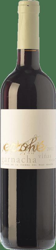 6,95 € Free Shipping | Red wine Evohé Joven I.G.P. Vino de la Tierra Bajo Aragón Aragon Spain Grenache Bottle 75 cl