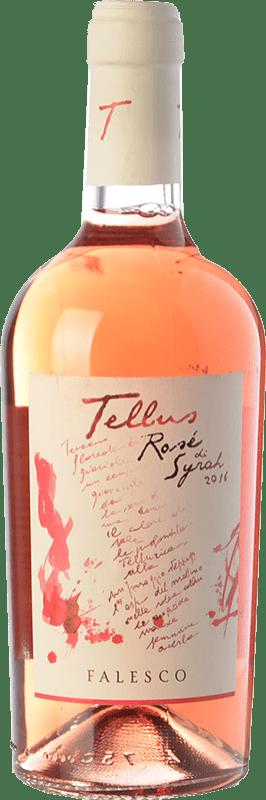 7,95 € Free Shipping | Rosé wine Falesco Tellus Rosé di Syrah I.G.T. Lazio Lazio Italy Syrah Bottle 75 cl