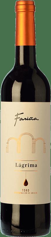 8,95 € Envío gratis | Vino tinto Fariña Gran Colegiata Lágrima Joven D.O. Toro Castilla y León España Tinta de Toro Botella 75 cl