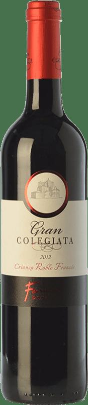 9,95 € Free Shipping | Red wine Fariña Gran Colegiata Roble Francés Crianza D.O. Toro Castilla y León Spain Tinta de Toro Bottle 75 cl