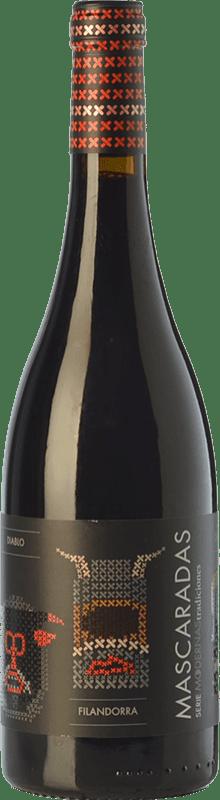 9,95 € 免费送货 | 红酒 Fariña Mascaradas Joven I.G.P. Vino de la Tierra de Castilla y León 卡斯蒂利亚莱昂 西班牙 Tempranillo 瓶子 75 cl