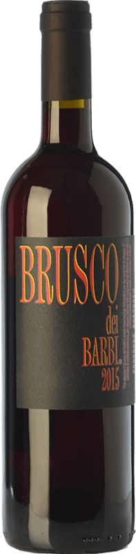 7,95 € Free Shipping | Red wine Fattoria dei Barbi Brusco dei Barbi I.G.T. Toscana Tuscany Italy Sangiovese Bottle 75 cl