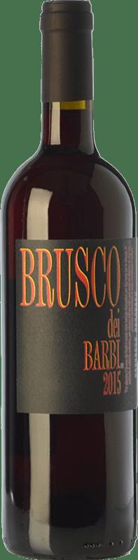 7,95 € Envío gratis | Vino tinto Fattoria dei Barbi Brusco dei Barbi I.G.T. Toscana Toscana Italia Sangiovese Botella 75 cl