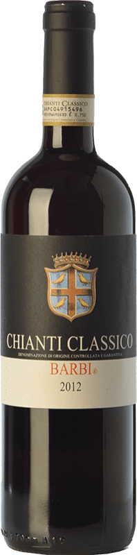 14,95 € Envoi gratuit | Vin rouge Fattoria dei Barbi D.O.C.G. Chianti Classico Toscane Italie Sangiovese, Canaiolo Bouteille 75 cl