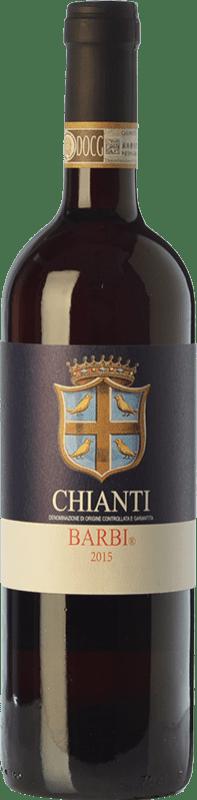 9,95 € 免费送货 | 红酒 Fattoria dei Barbi D.O.C.G. Chianti 托斯卡纳 意大利 Sangiovese, Canaiolo 瓶子 75 cl