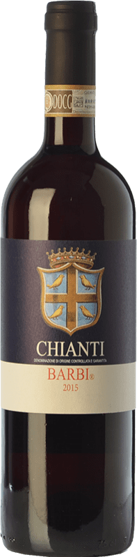 9,95 € | Red wine Fattoria dei Barbi D.O.C.G. Chianti Tuscany Italy Sangiovese, Canaiolo Bottle 75 cl