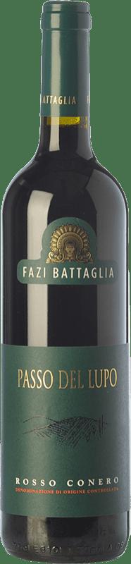 13,95 € | Red wine Fazi Battaglia Passo del Lupo D.O.C. Rosso Conero Marche Italy Sangiovese, Montepulciano Bottle 75 cl