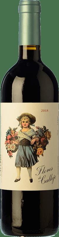 免费送货 | 红酒 Callejo Flores de Callejo Joven 2016 D.O. Ribera del Duero 卡斯蒂利亚莱昂 西班牙 Tempranillo 瓶子 75 cl