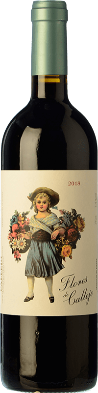 Spedizione Gratuita | Vino rosso Callejo Flores de Callejo Joven 2016 D.O. Ribera del Duero Castilla y León Spagna Tempranillo Bottiglia 75 cl
