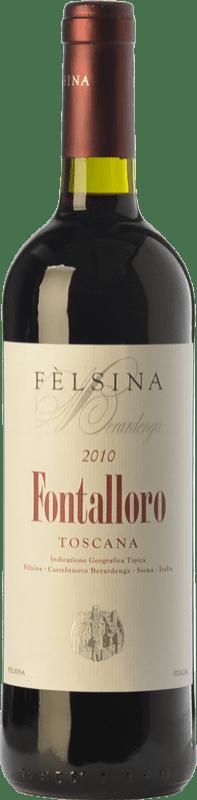 56,95 € Envío gratis | Vino tinto Fèlsina Fontalloro I.G.T. Toscana Toscana Italia Sangiovese Botella 75 cl