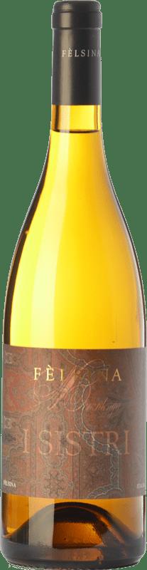 14,95 € Envío gratis | Vino blanco Fèlsina I Sistri I.G.T. Toscana Toscana Italia Chardonnay Botella 75 cl