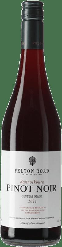 71,95 € Free Shipping | Red wine Felton Road Bannockburn Crianza I.G. Central Otago Central Otago New Zealand Pinot Black Bottle 75 cl