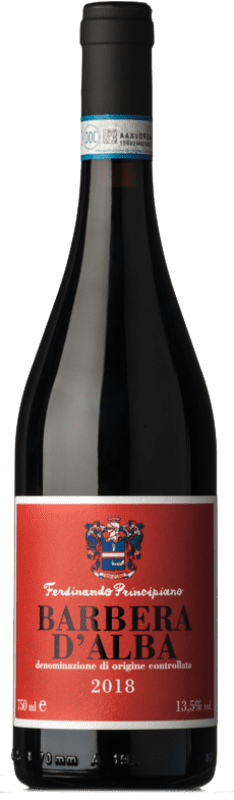 16,95 € Free Shipping | Red wine Ferdinando Principiano Laura D.O.C. Barbera d'Alba Piemonte Italy Barbera Bottle 75 cl
