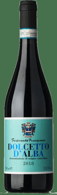 14,95 € Free Shipping | Red wine Ferdinando Principiano Sant'Anna D.O.C.G. Dolcetto d'Alba Piemonte Italy Dolcetto Bottle 75 cl