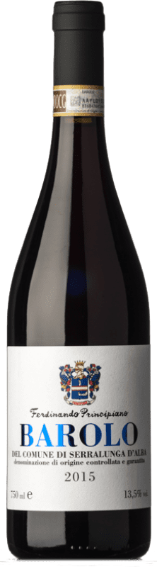 35,95 € Free Shipping | Red wine Ferdinando Principiano Serralunga D.O.C.G. Barolo Piemonte Italy Nebbiolo Bottle 75 cl