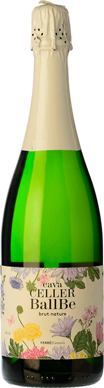 8,95 € Free Shipping | White sparkling Ferré i Catasús Celler Ballbé Brut Nature Joven D.O. Cava Catalonia Spain Macabeo, Xarel·lo, Parellada Bottle 75 cl