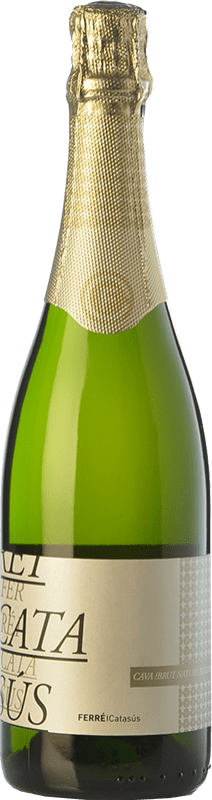 9,95 € Free Shipping | White sparkling Ferré i Catasús Classic Brut Nature Reserva D.O. Cava Catalonia Spain Macabeo, Xarel·lo, Parellada Bottle 75 cl