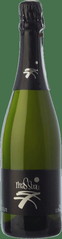 8,95 € 免费送货 | 白起泡酒 Ferré i Catasús Mas Suau Brut Nature Reserva D.O. Cava 加泰罗尼亚 西班牙 Macabeo, Xarel·lo, Parellada 瓶子 75 cl